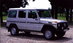 G-Wagon Technical Information