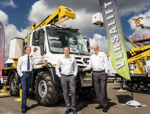 Unimog and Versalift team up for low voltage RT