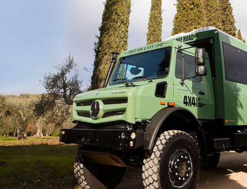 The Unimog on Safari in Tuscany.