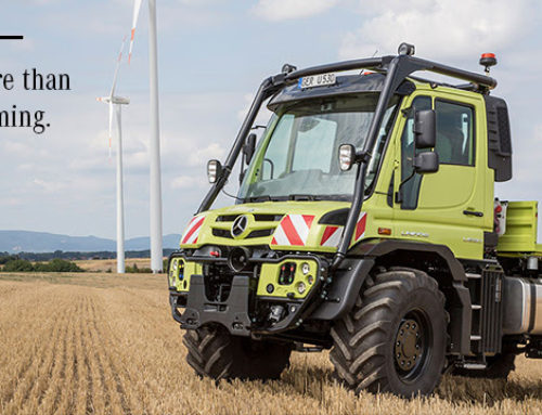 More Than Farming. The Unimog is profitable throughout the year.